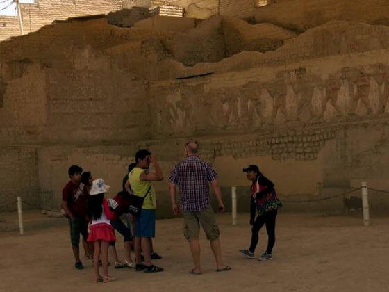 Archeological site El Brujo