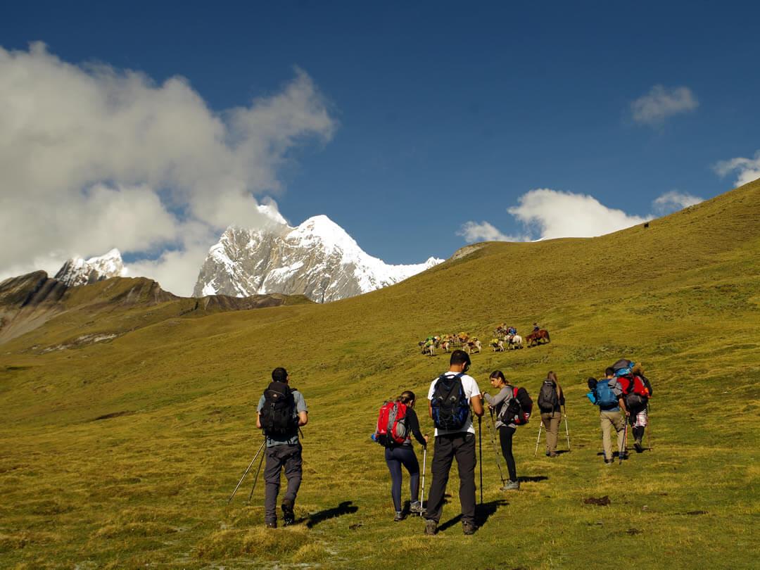 Paso Carhuac Cordillera Huayhuash