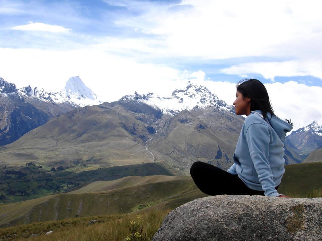 Chonta punta, Cordillera Blanca