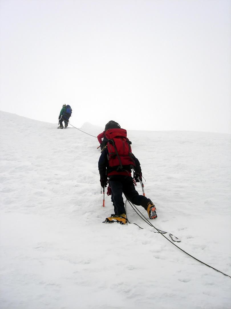 Tocllaraju mountain Peru