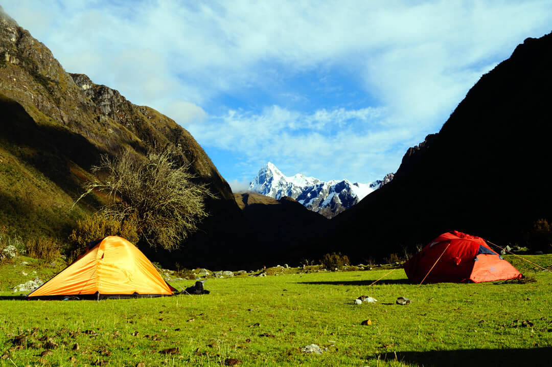 Huaripampa campsite