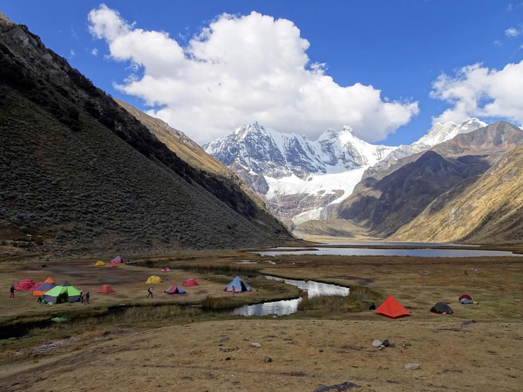 Jahuacocha Cordillera Huayhuash