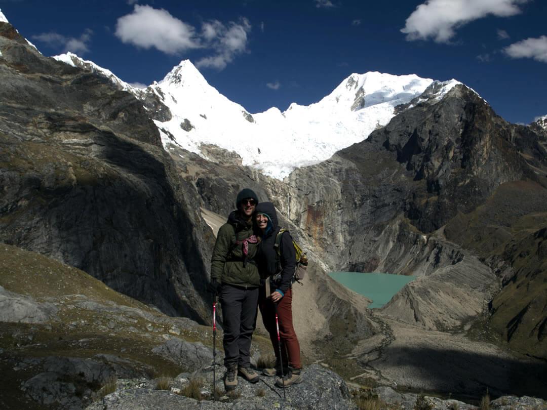 Jankarurish Alpamayo trek Cordillera Blanca