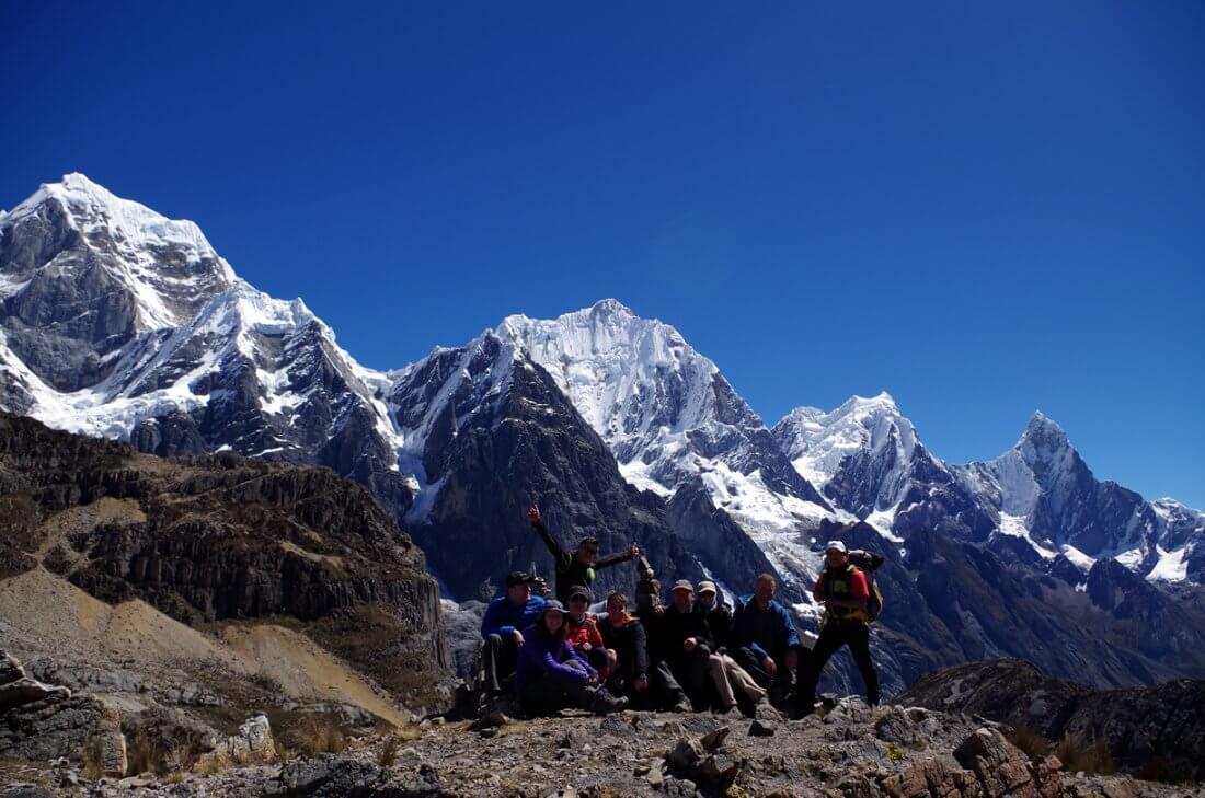 Paso Siula Cordillera Huayhuash