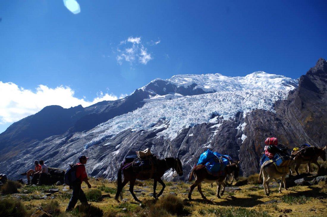 Paso Yanayaku Cordillera Blanca