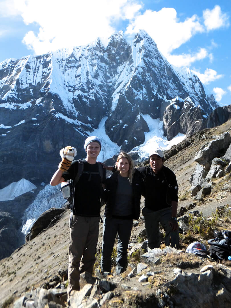 Paso Zambunya Cordillera Huayhuash