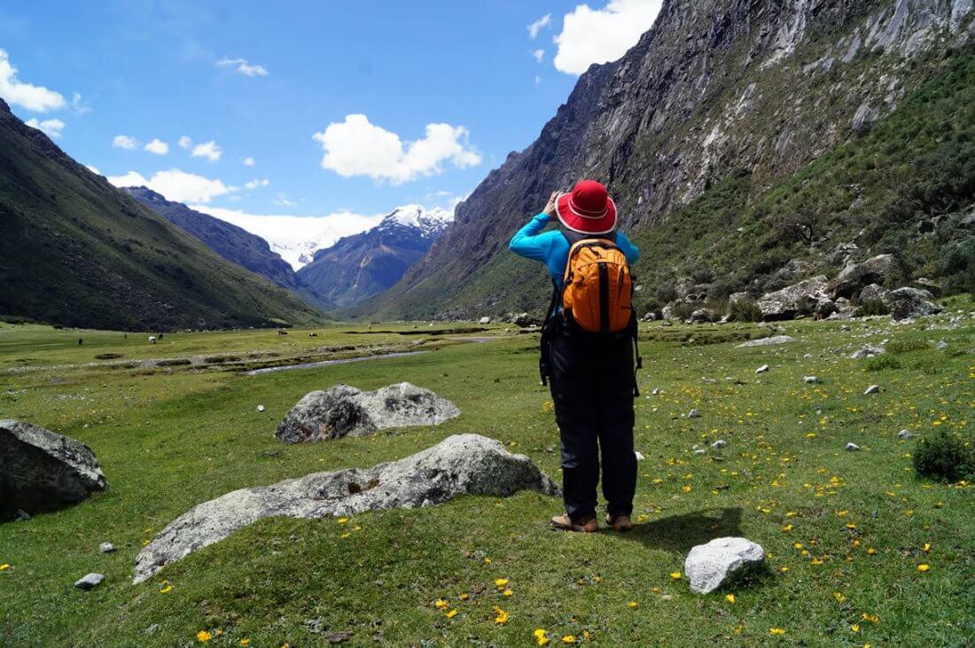 Valle Quilcayhuanca Cordillera Blanca