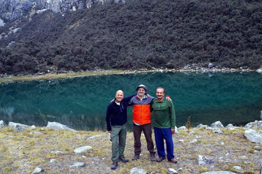Laguna Uruscocha Cordillera Blanca