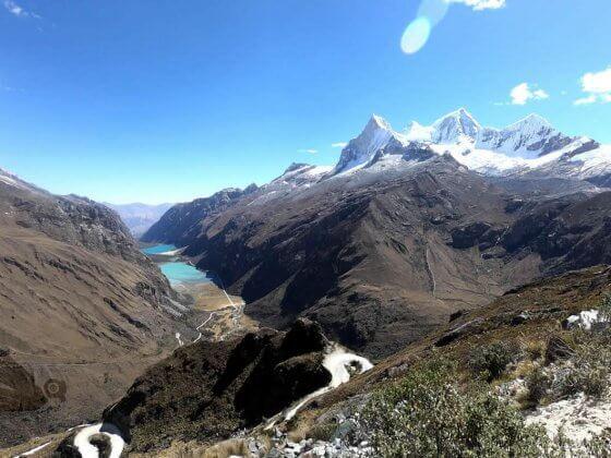 Laguna Llanganuco Cordillera Blanca