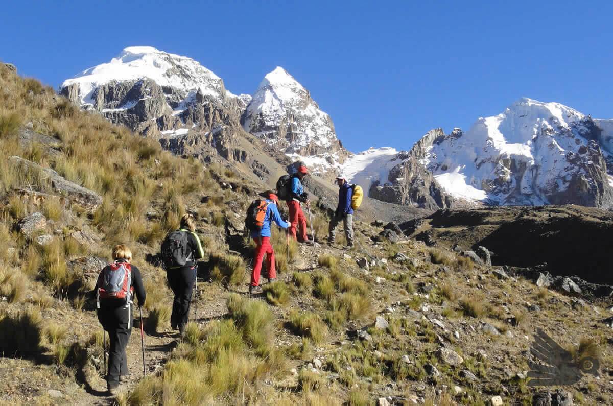 Paso Cuyo Cordillera Huayhuash