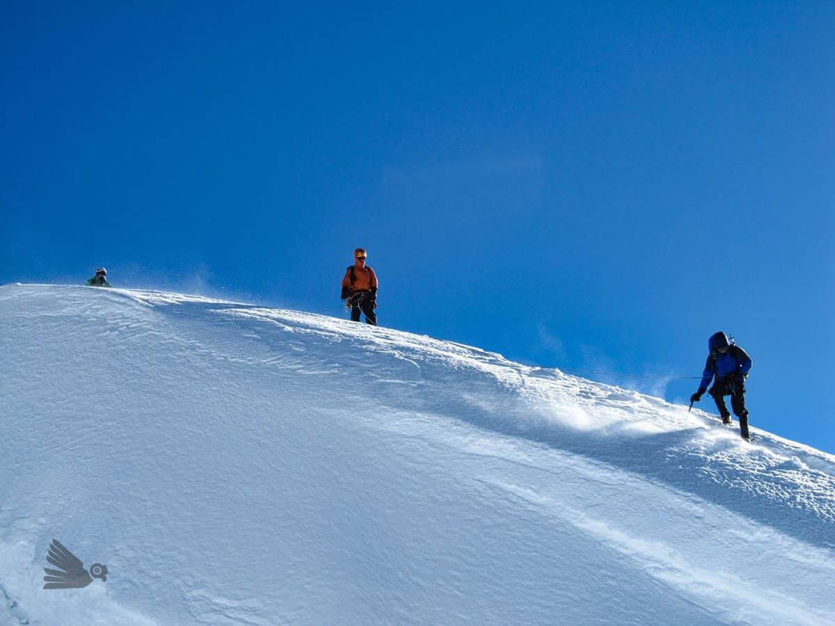 Escalada en la Cordillera Blanca