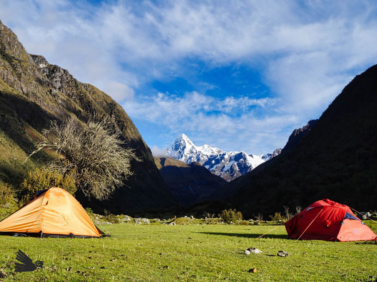 Campamento Huaripampa Cordillera Blanca