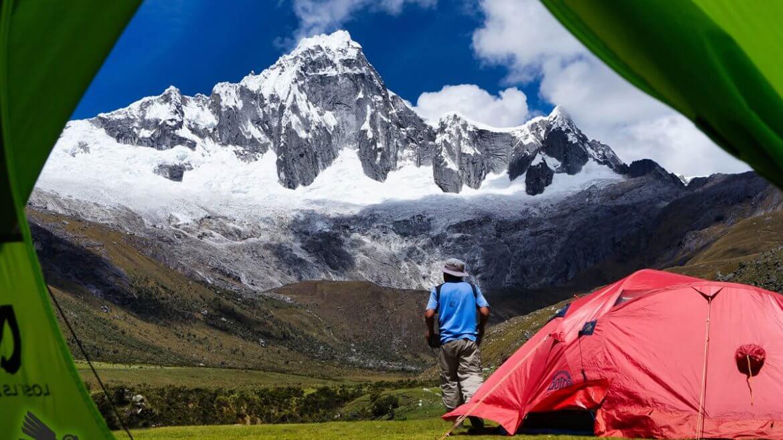 Campamento Taullipampa, Santa Cruz trek