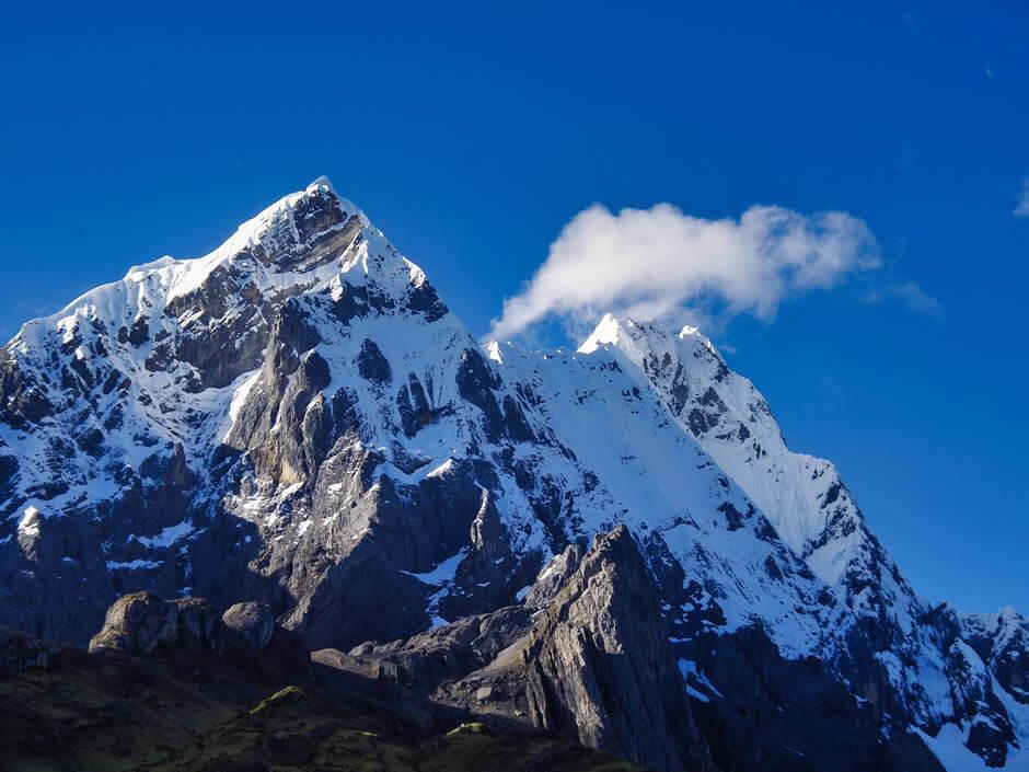Ninashanka and Rondoy mountains