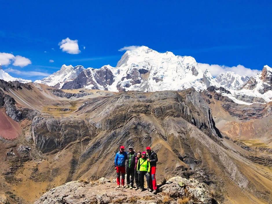 Paso Yahucha, Cordillera Huayhuash